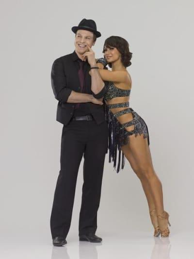 Gavin DeGraw and Karina Smirnoff