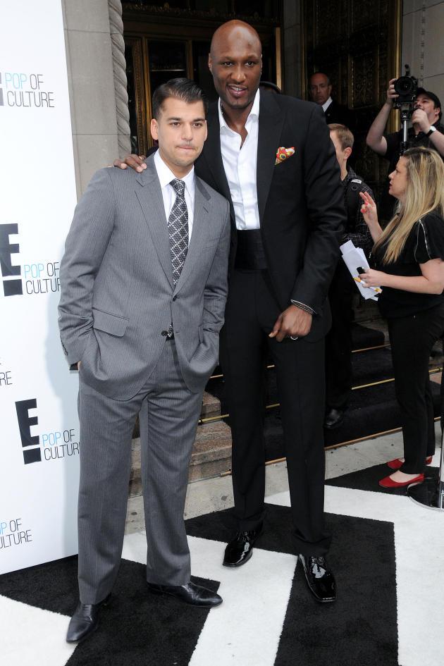 Rob Kardashian and Lamar Odom
