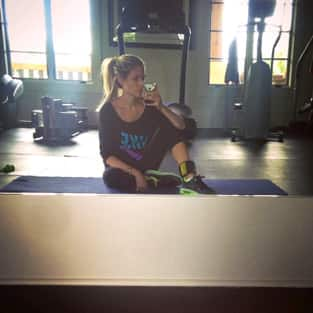 Kristin Working Out