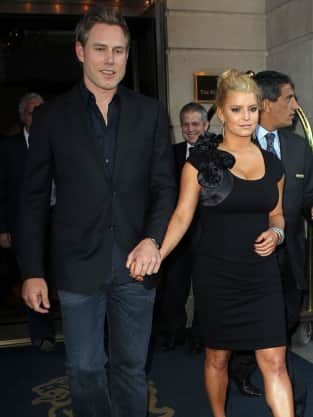 Jessica Simpson and Eric Johnson Pic