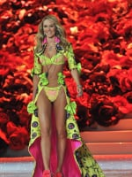 Candice Swanepoel at the Victoria's Secret Fashion Show
