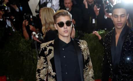 Justin Bieber at MET Gala