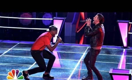 """Jacob Poole vs. Matthew Schuler: """"My Songs Know What You Did in the Dark"""" (The Voice Battle Round)"""