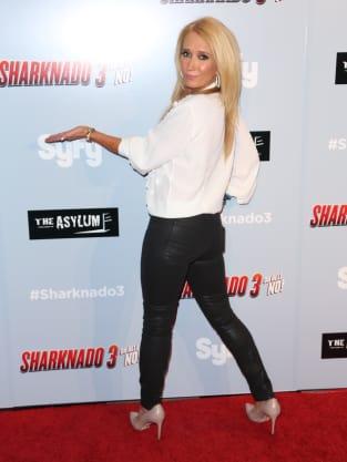 Kim Richards at Film Premiere