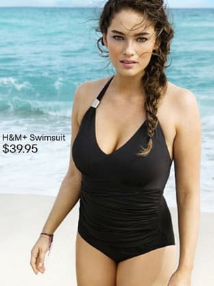f879f934e0 H&M Swimsuit Model: Size 12! Normal-Looking! - The Hollywood Gossip