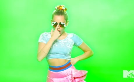 Miley Cyrus: Smokin in Video Music Awards Teaser!