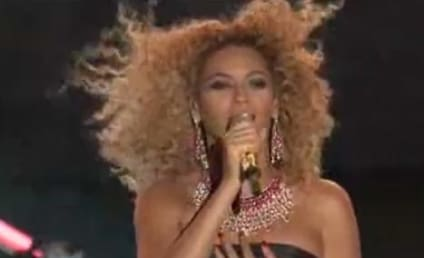 Beyonce Performs at Fourth of July Spectacular