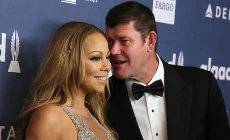 James Packer with Mariah Carey