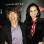 L'Wren Scott and Mick Jagger Pic