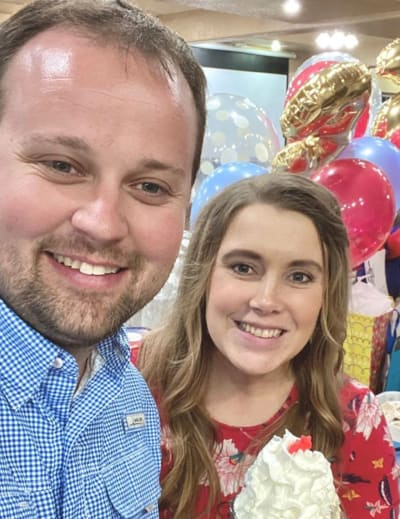 Josh Duggar and His Wife
