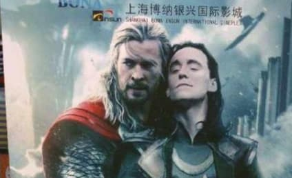 Chinese Movie Theater Uses Fan-Made Thor: The Dark World Poster By Mistake