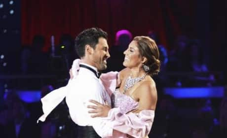 Hope Solo and Maksim Chmerkovskiy Pic