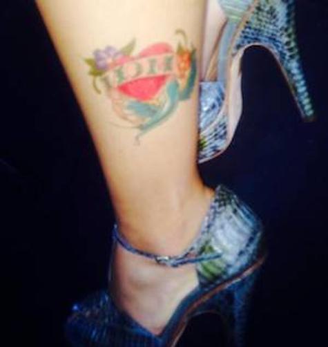 Farrah Abraham Mom Tattoo