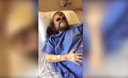 Woman Gives Birth in Chewbacca Mask, Apocalypse Nears