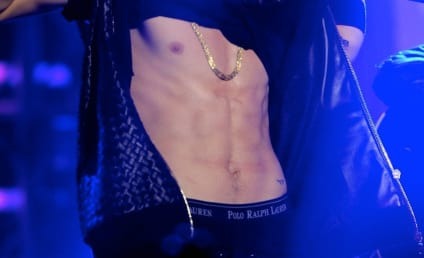 Justin Bieber, Six-Pack Perform on New Year's Eve
