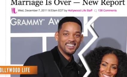 Will and Jada Pinkett Smith Heard About Their Divorce Via Google Alert in Bed