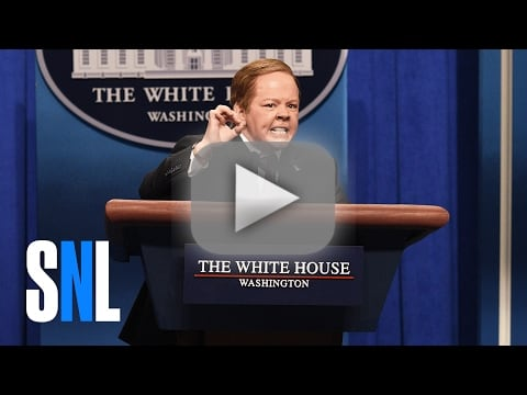 Saturday night live takes on sean spicer and jeff sessions in hi