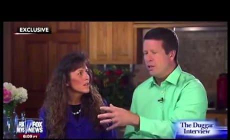 Jim Bob and Michelle Duggar Interview, Part I