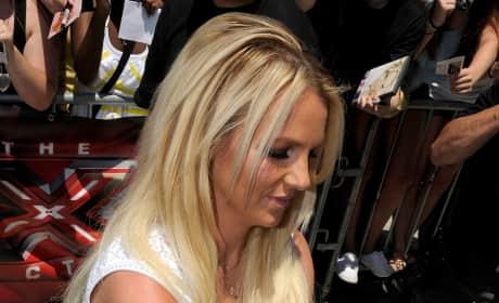 Britney Spears' White Dress