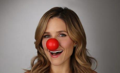 Sophia Bush Red Nose Photo