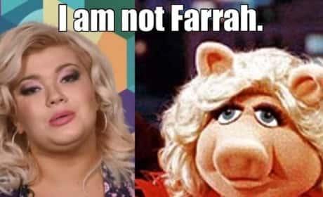 Farrah Abraham-Amber Portwood Meme
