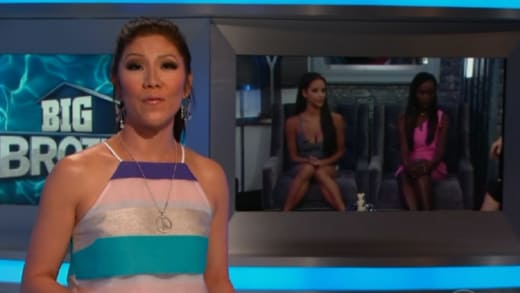 Julie Chen Evicts Someone