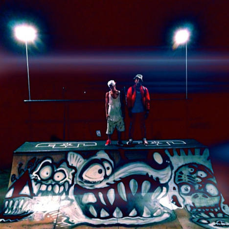 Justin Bieber with Chris Brown