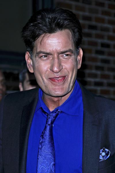 Charlie Sheen Smiles