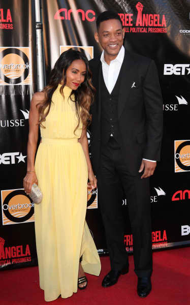 Will and Jada Smith Pose