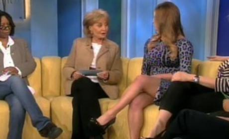 Jessica on The View