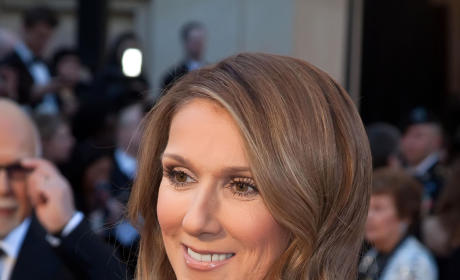 Celine Dion at the Oscars