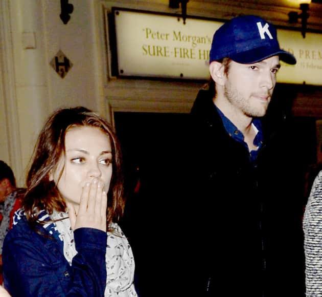 Mila and Ashton Photo