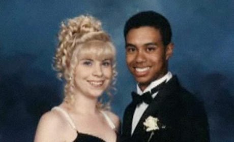 Tiger Woods Prom Photo