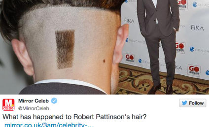 Robert Pattinson Debuts New, REALLY Weird Hairstyle: Like It or Loathe It?