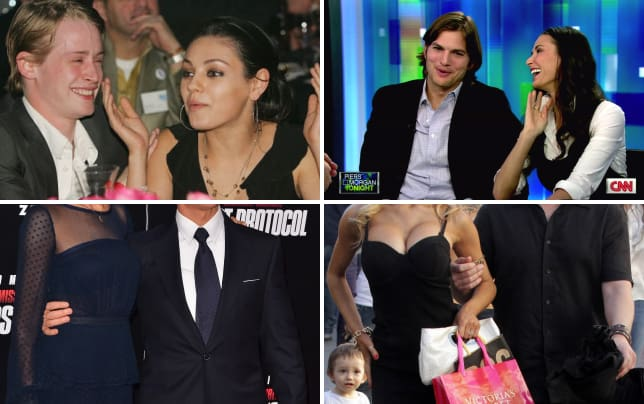 17 weirdest celebrity couples macaulay culkin and mila kunis