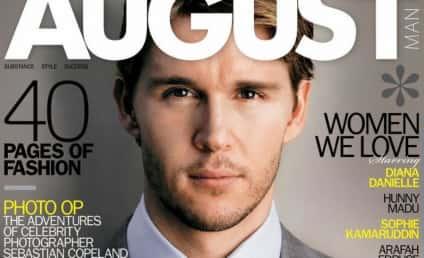August Man (Oh Man!): Ryan Kwanten Poses for Magazine