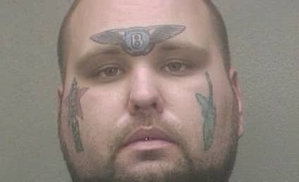 Florida Man Arrested for Tax Fraud, Has Bentley Tattoo Across Forehead