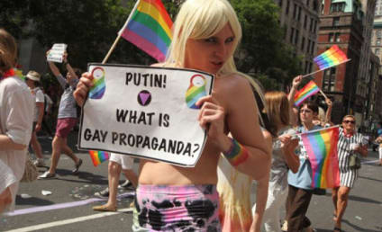 Russia Anti-Gay Law Sparks Protests, Olympic Boycott Threats