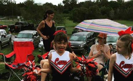 Sophia Abraham Cheerleading