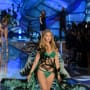 Gigi Hadid: Butterfly Look at the 2015 Victoria's Secret Fashion Show