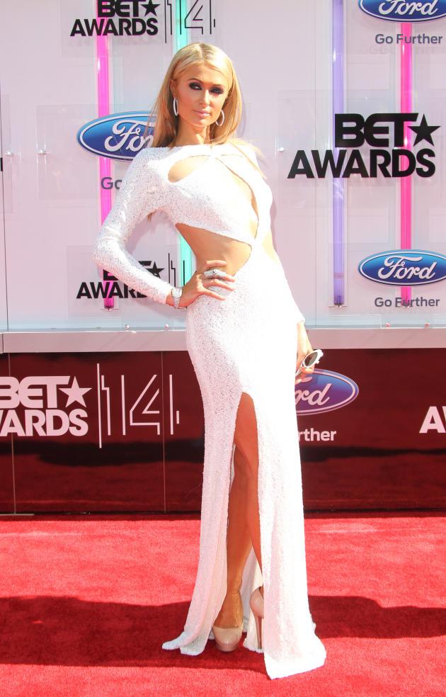 Paris Hilton BET Awards Photo