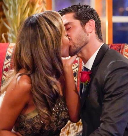 Spencer Robertson Kisses Tayshia