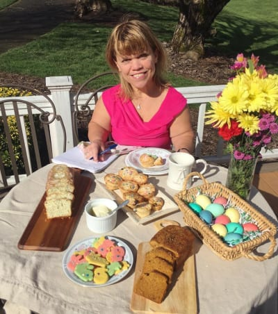 Amy Roloff Easter Table