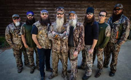 The Duck Dynasty Cast