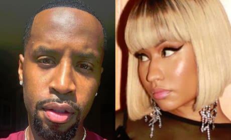 Safaree Samuels Accuses Nicki Minaj of Vicious Knife Attack
