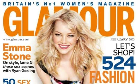 Emma Stone Glamour Cover