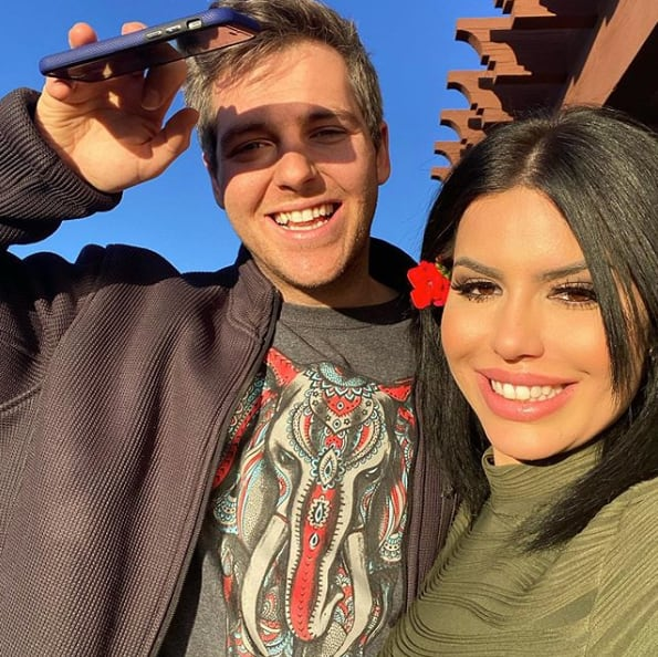 Larissa lima and eric nichols have an announcement
