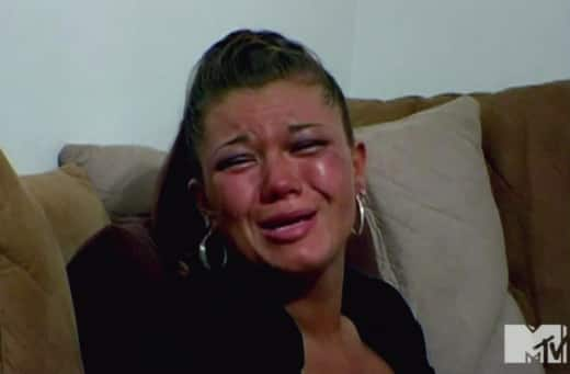 Amber Portwood Crying