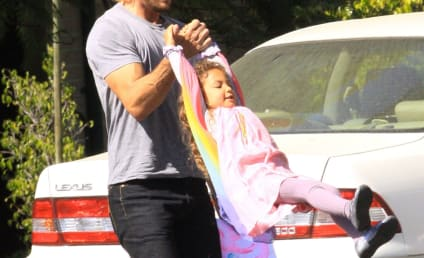 Gabriel Aubry to Fight for Daughter in Court