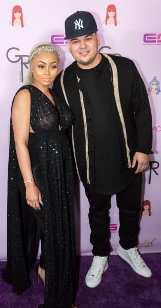 Robert Kardashian, Blac Chyna